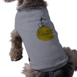 O Dia das Bruxas assustador assustador feliz da lu Camisetas Para Caes