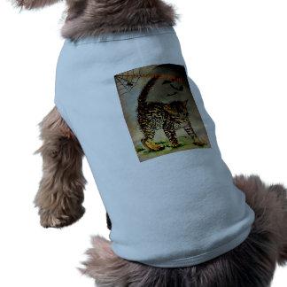 O Dia das Bruxas assustador Camisa Sem Mangas Para Cachorro