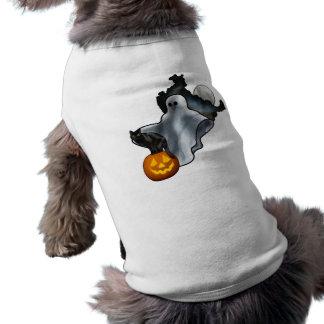 O Dia das Bruxas Roupa Pet
