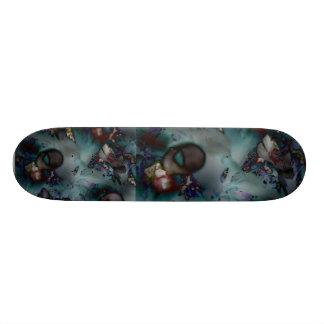 O Dia das Bruxas Enchanted o skate da floresta