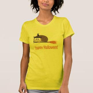O Dia das Bruxas feliz! Bruxa do ouriço Camiseta