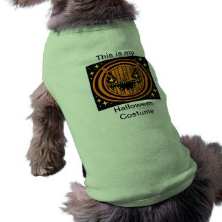 O Dia das Bruxas feliz Roupas Para Cães