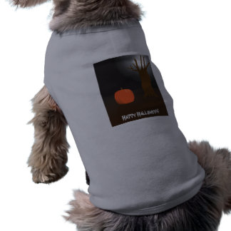 O Dia das Bruxas feliz! Camisa do animal de estima Roupa Para Cães