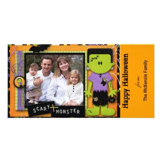 O Dia das Bruxas feliz Cartões Com Fotos Personalizados