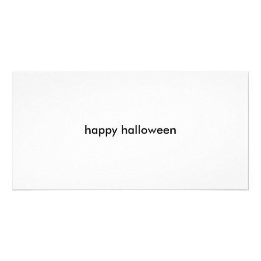 o Dia das Bruxas feliz Cartões Com Fotos