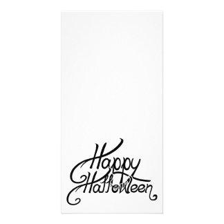 O Dia das Bruxas feliz festivo assustador Cartão Com Foto