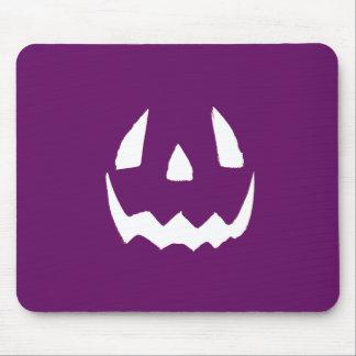 O Dia das Bruxas feliz roxo Mouse Pad