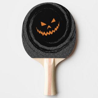 O Dia das Bruxas Jack de incandescência O'Lantern Raquete De Ping Pong