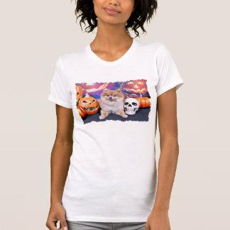 O Dia das Bruxas - Pomeranian - Simba Tshirts