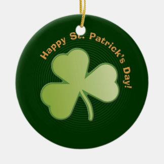 O dia de St Patrick feliz - ornamento