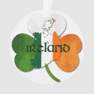 O dia de St Patrick - Ireland/mapa