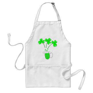 O dia de St Patrick o segredo do avental da fabric
