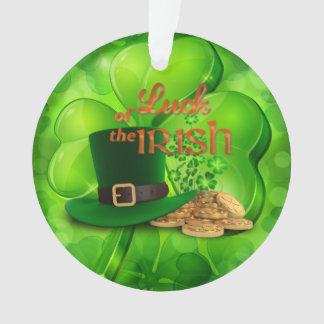 """O dia de St Patrick - """"sorte do irlandês"""" - trevo"""