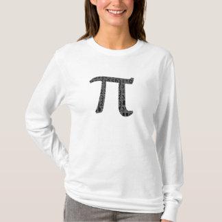 O dia do Pi personaliza a camisa do design