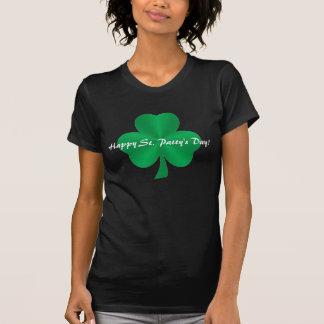 O dia do rissol feliz do St.! Camisa verde do Camiseta