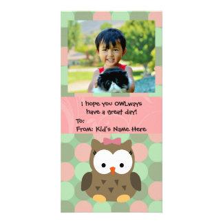 O dia dos namorados de OWLways caçoa namorados Cartão Com Foto