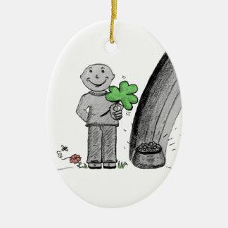 O dia Herbert de St Patrick feliz Enfeites De Natal