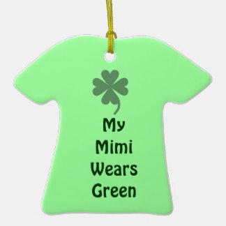 O dia Mimi de St Patrick Ornamento
