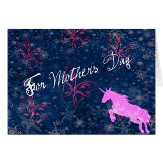 O dia Mystical da mãe Cartões