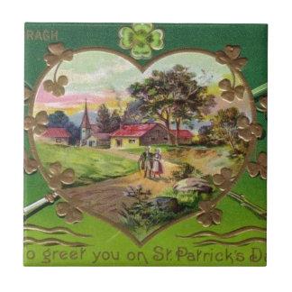 O dia retro de St Patrick do irlandês do vintage