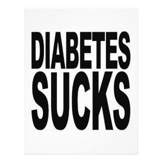 O diabetes suga flyer 21.59 x 27.94cm