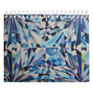 O diamante de vidro dois pagina, calendário