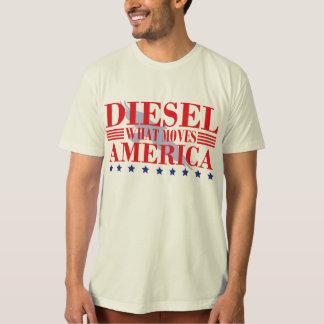 O diesel move América T-shirt