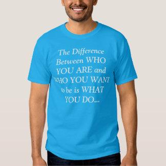 O diferente t-shirt