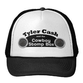 O dinheiro de Tyler e o vaqueiro Stomp chapéu do c Bonés