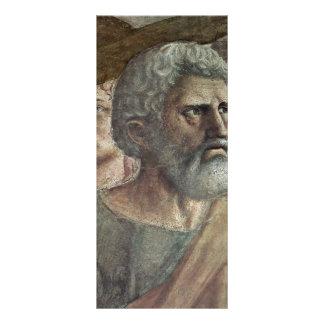O dinheiro do tributo por Masaccio (a melhor quali 10.16 X 22.86cm Panfleto