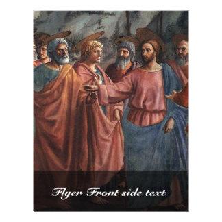 O dinheiro do tributo por Masaccio (a melhor quali Panfleto Coloridos