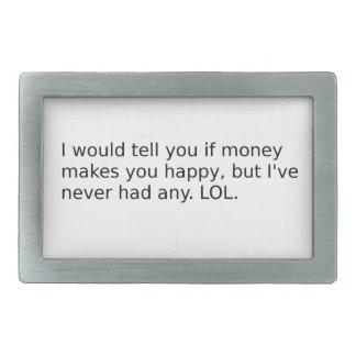 O dinheiro fá-lo feliz?