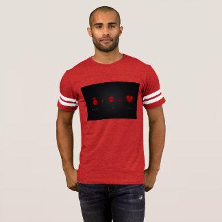 O dinheiro mais a luxúria iguala o vermelho do T Camiseta