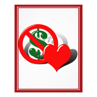 O dinheiro não pode comprar meu amor