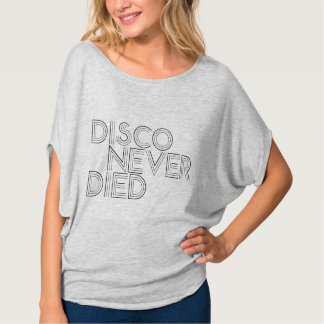 O disco nunca morreu camiseta