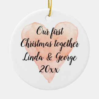 ø Do Natal ornamento da árvore do xmas do casal