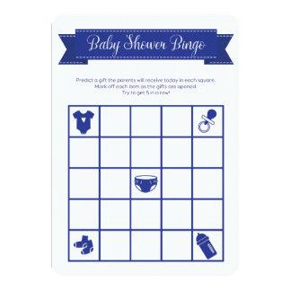 O dobro do jogo do Bingo do chá de fraldas dos Convite 12.7 X 17.78cm