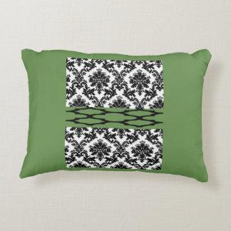 o dobro verde decorativo do travesseiro do almofada decorativa