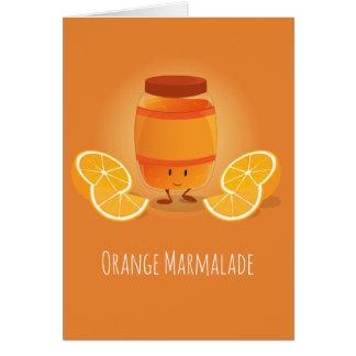 O doce de fruta de sorriso bloqueia o cartão de |