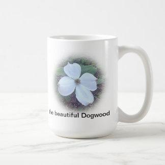 o dogwood bonito caneca de café