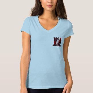 O DopeNess das mulheres V - pescoço Tshirts