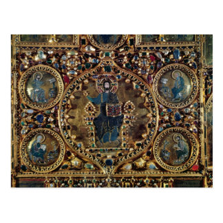 O d'Oro de Pala, detalhe de cristo na majestade Cartão Postal