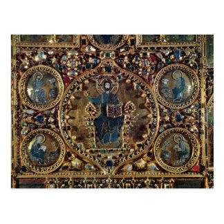 O d'Oro de Pala, detalhe de cristo na majestade co Cartoes Postais