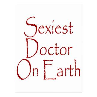 "O doutor o mais ""sexy"" Terra Cartao Postal"
