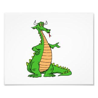 o dragão amigável distribui .png impressão de foto
