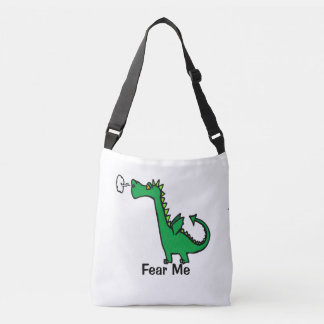 O dragão dos desenhos animados teme-me bolsa ajustável