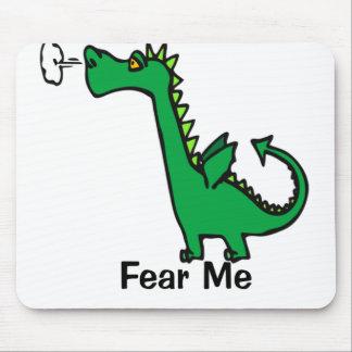 O dragão dos desenhos animados teme-me mouse pad