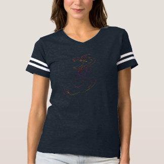 O dragão joga o berimbau camiseta