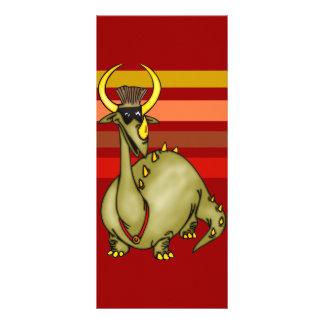 O dragão mascarado 10.16 x 22.86cm panfleto