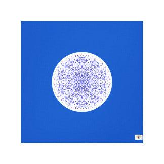 O duende de Bloo - canvas da mandala de Bloo
